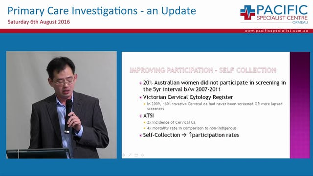 Future Changes to the National Cervical Screening Program Dr Donald Angstetra Obstetrics and Gynaecologist Gold University Hospital
