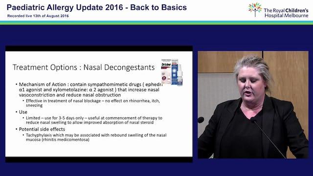 Allergic Rhinitis: A practical approach Dr Marnie Robinson