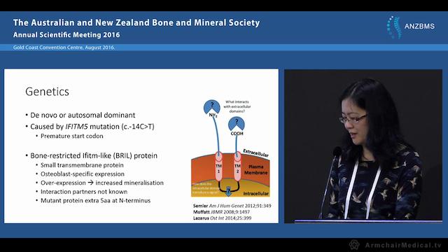 Abnormal ossification in skeletal dys...