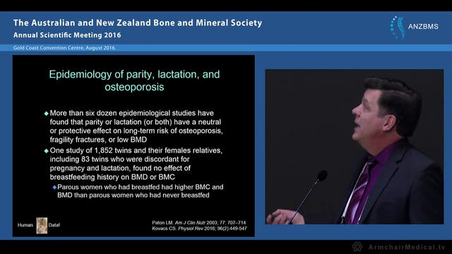 Osteoporosis occurring in association with pregnancy and lactation - Christopher Kovacs