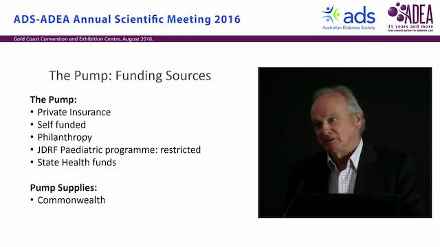 Funding a pump clinic - Tim Jones