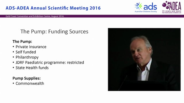 Funding a pump clinic - Tim Jones