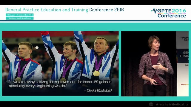The Bright Future for Medical Education - Combining Creativity and Discipline Victoria Brazil