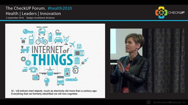 #health2020 It's health but not as we...