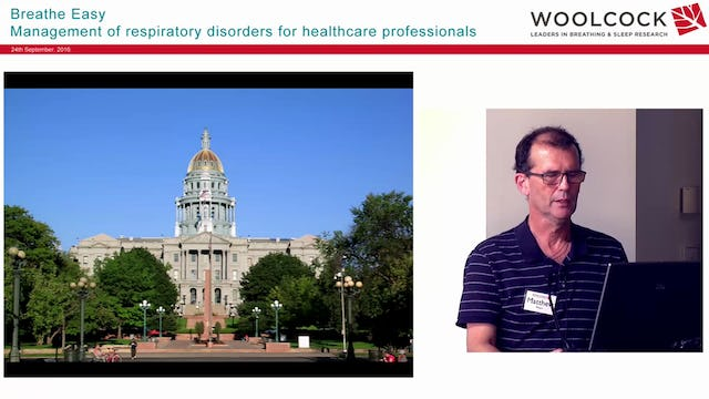 COPD & Chronic Respiratory Disease and Travel Prof Matthew Peters