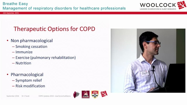 COPD Dual Bronchodilator therapy Dr Claude Farahh
