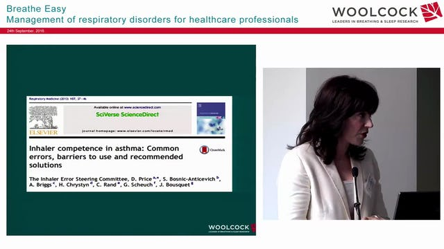 Asthma Inhalers & devices Assoc Prof Sinthia Bosnic-Anticevich
