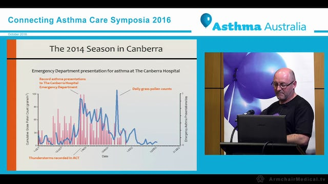 Airborne pollen in the ACT and promoting better health through citizen science Professor Simon Haberle