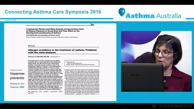 Allergic rhinitis and the best practice treatments for good asthma control Professor Constance Katelaris