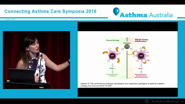Asthma predictors from infancy to adulthood Dr Louisa Owens, Sydney Children's Hospital Network