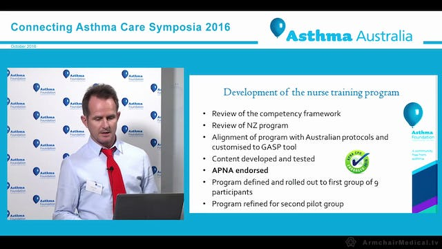 GASP A new approach to managing asthma in Primary Health Care Anthony Flynn, Asthma Foundation Oshana Hermiz, University of New South Wales