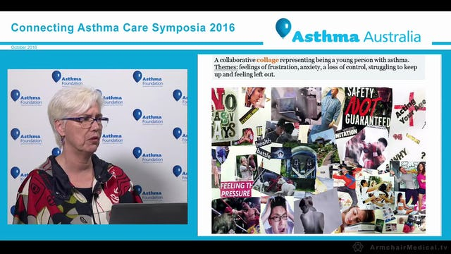 The development, design and evaluation of an adolescent goal setting asthma self management app Associate Professor Lorraine Smith