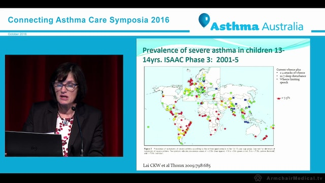Severe asthma - an overview Associate Professor Janet Rimmer