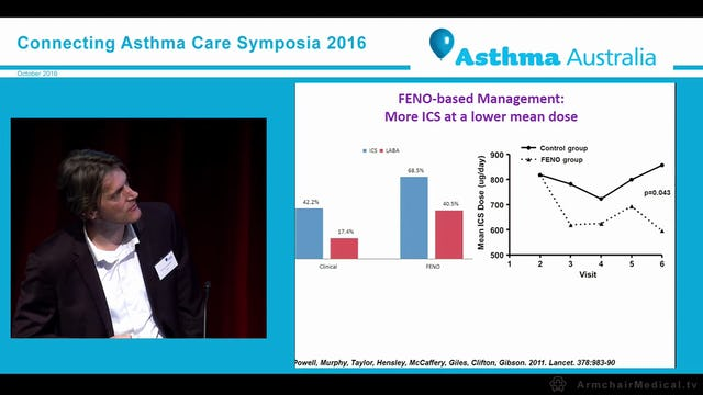 Using Fraction of Exhaled Nitric Oxide to manage asthma in pregnancy and its effects on respiratory health in early life Professor Joerg Mattes