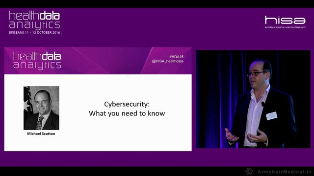 Cybersecurity What you need to know Michael Scotton Assistant Secretary Cyber Security, Australian Cyber Security Centre