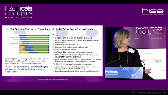 Data sharing as a strategic priority area in health and HISA's role Susan Smith Clinical Research Coordinator, Cardiothoracic Surgery Program, The Prince Charles Hospital