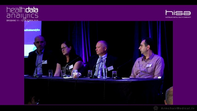 Large scale data analytics Panel Discussion
