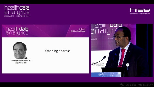 Opening Address Dr Mukesh Haikerwal A...