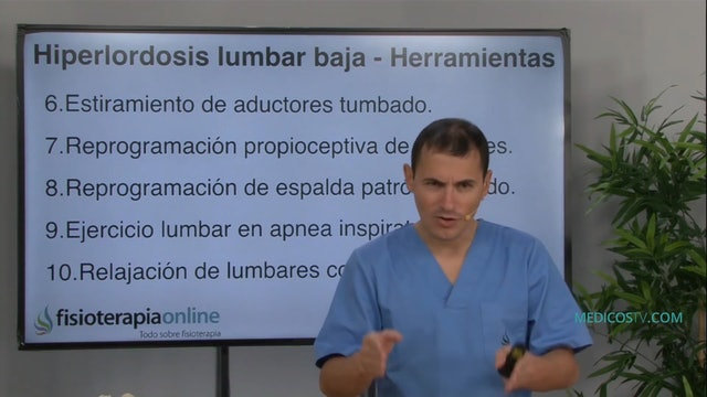 S1-E10 Herramientas para atender la hiperlordosis lumbar baja