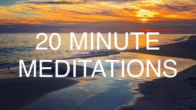 20 Minute Meditations