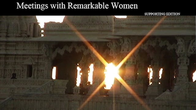 Meetings with Remarkable Women: supporting edition