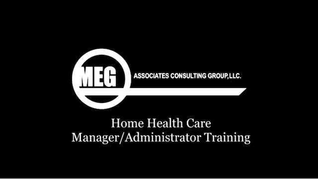 MEG Associates: The Beginning Agency Collection (8 Contact Hours, for A and B License Agencies)
