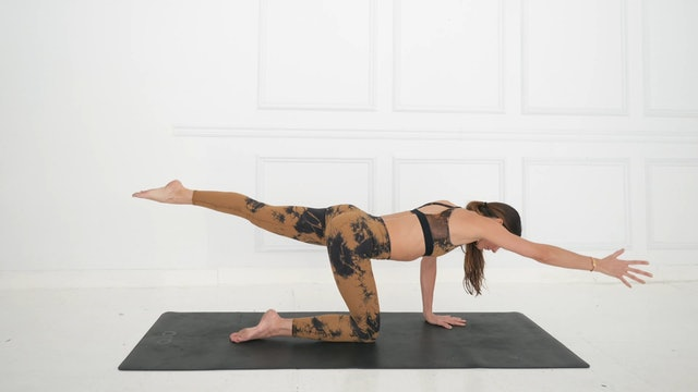 44 Min Yoga Focused Stretching Flow Using Your Own Body Weight