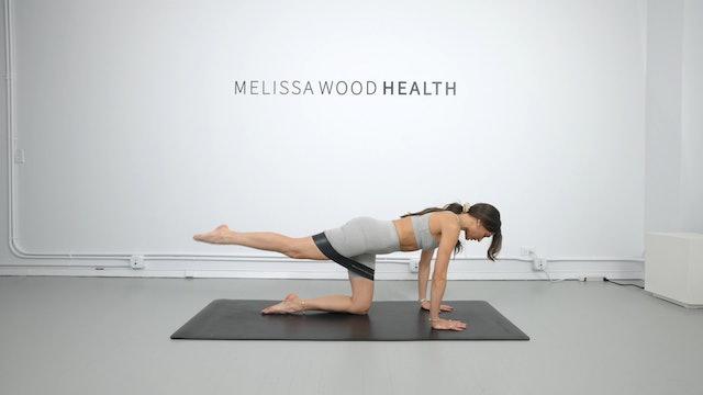 17 Min Beginner/Pre + Postnatal Friendly Pilates w/ Band