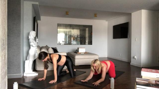 24 Min Prenatal w/ @danielleduboise Using Your Own Body Weight