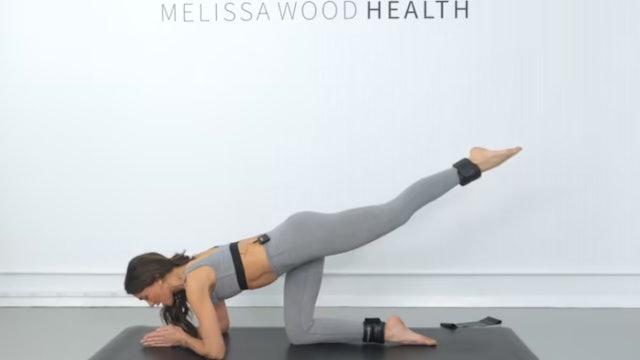 Day 10: 20 Min Full Body Beginner Friendly Flow w/ Band & 1 lb Weights