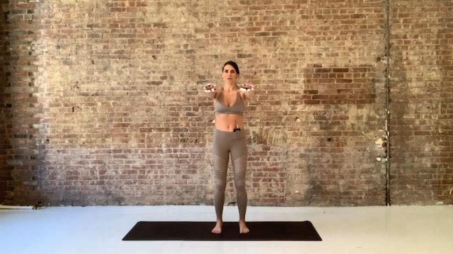 20 Min Full Body w/ 1lb Weights