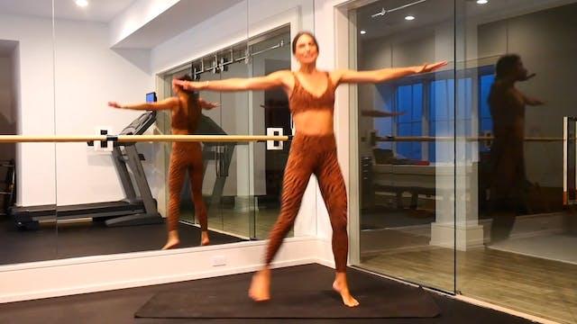 14 Min Dance Warm-up and Plié Squat S...