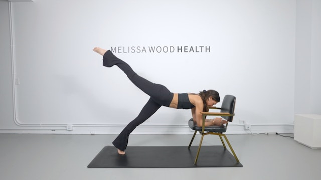 24 Min Chair/Bench Series Using Your Own Body Weight