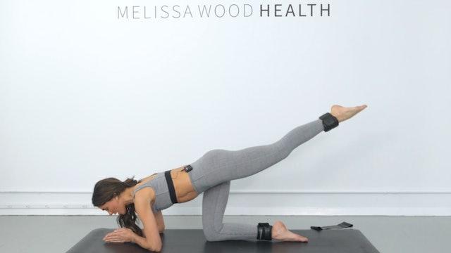 20 Min Full Body Beginner Friendly Flow w/ Band & 1lb Weights
