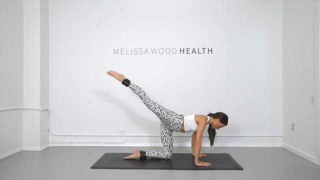 27 Min Power Pilates Legs + 1lb Weights