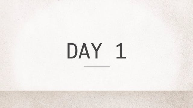 Day 1