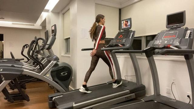 20 Min Treadmill w/ Legs