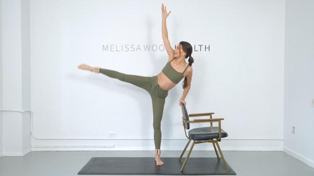 17 Min Power Standing Chair Series w/ 1 lb Weights