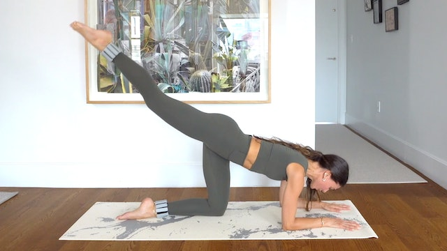 40 Min. Full Body Pilates using 1 lb. Weights