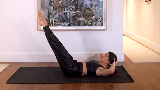 Day 4: 10 Min Ab Focused Flow Using Your Own Body Weight