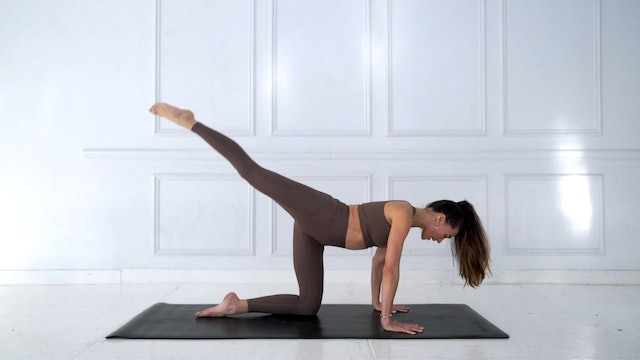 18 Min Power Pilates Focused Leg Flow