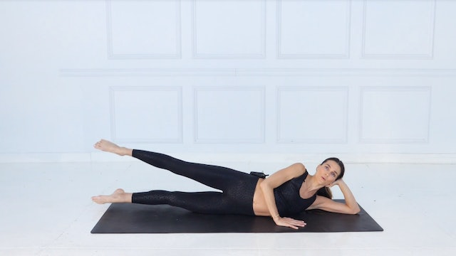 27 Min Inner/Outer Thighs Using Your Own Body Weight