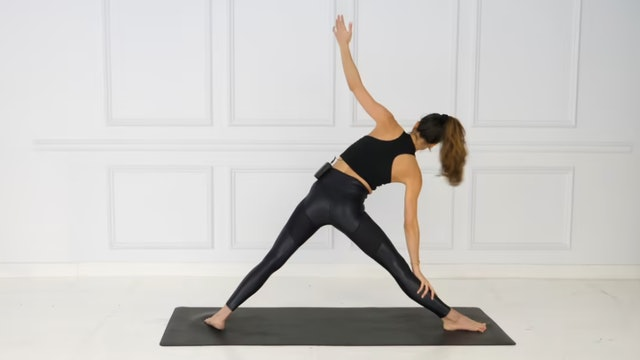 Day 7: 40 Min Full Body Yoga/Pilates Flow Using Your Own Body Weight