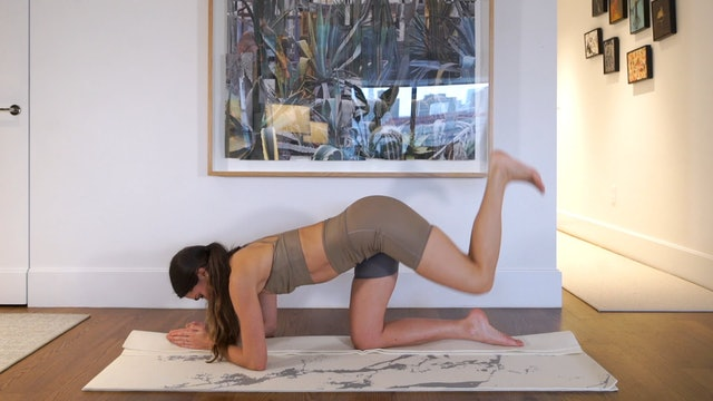 12 Min Booty Focused Flow