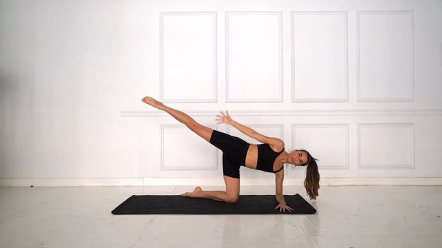 21 Min Full Body Power Pilates Using Your Own Body Weight