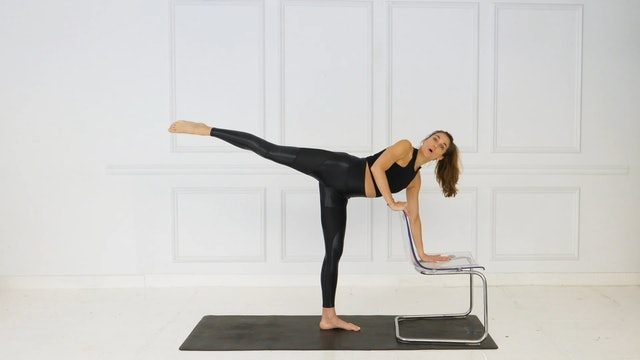 27 Min Lower Body w/ Chair