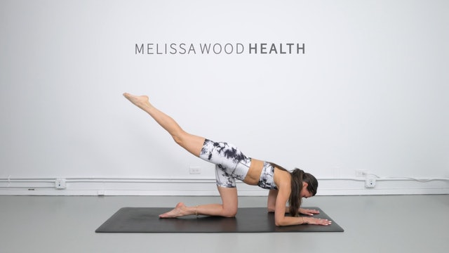 16 Min Booty Focused Flow Using Your Own Body Weight
