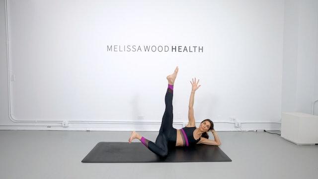 16 Min Power Pilates Using Own Body Weight