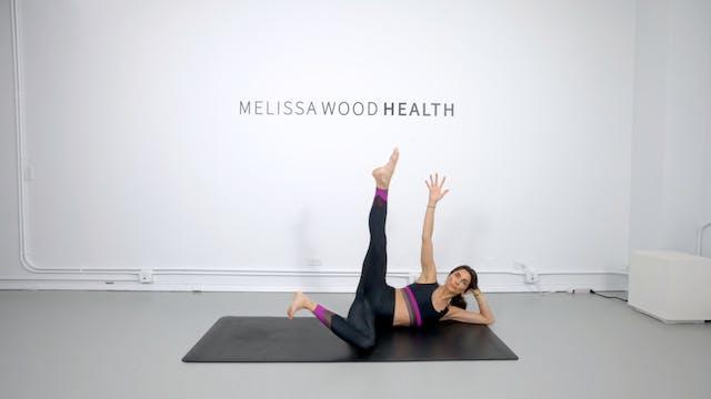 16 Min Power Pilates Using Own Body W...