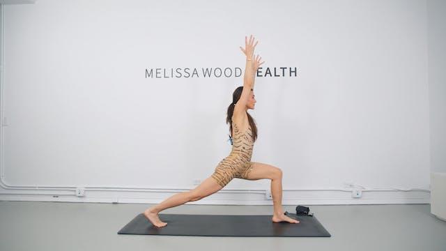33 Min Power Yoga + Pilates W/ 1LB We...